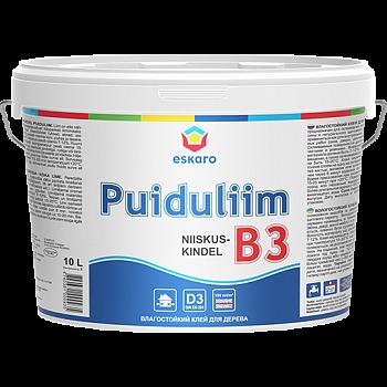 B3 Niiskuskindel Puiduliim - 0,5l. / В3 - 0,5 л. Влагостойкий клей для древесины